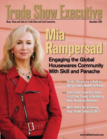 the December 2010 Issue in PDF Format - Trade Show Executive