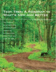 Tech Trek: A Roadmap to What's New and Better - Trade Show ...