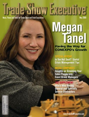 the May 2009 Issue in PDF Format - Trade Show Executive