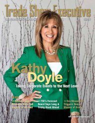 the July 2011 Issue in PDF Format - Trade Show Executive