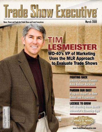 TIM LESMEISTER - Trade Show Executive
