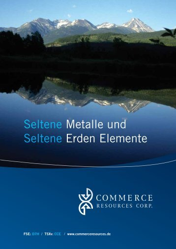 Download PDF - Commerce Resources Corp.