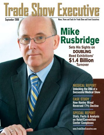 the September 2008 Issue in PDF Format - Trade Show Executive