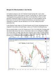 Leseprobe Lehrbrief 3 - Trading Coaching