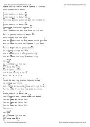 Country Music Lyrics Volume 2 With Chords Foundationwebsite Org Nobody chords by casting crowns. country music lyrics volume 2 with