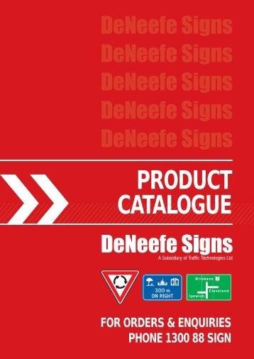 Product Catalogue - De Neefe