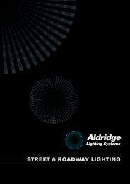 Street & Roadway Lighting - Aldridge Traffic Systems