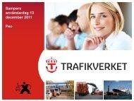 Trafikverket - Trafikanalysforum.se