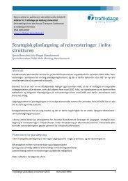 Fornyelse og vedligehold af jernbanen 2012-2020 - Trafikdage.dk
