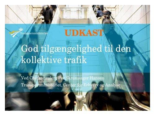 Per Skrumsager Hansen, Transportministeriet - Trafikdage.dk