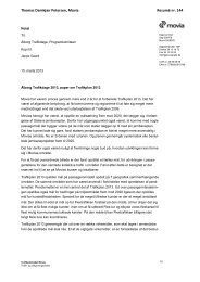 Ålborg Trafikdage 2013, paper om Trafikplan 2013 - Trafikdage.dk