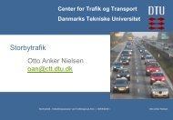 Professor Otto Anker Nielsen, DTU - Trafikdage.dk