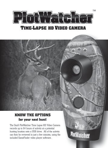 Moultrie D-444 Owner's Manual - Trail Camera