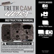 Primos Truth Cam Ultra - Trail Camera