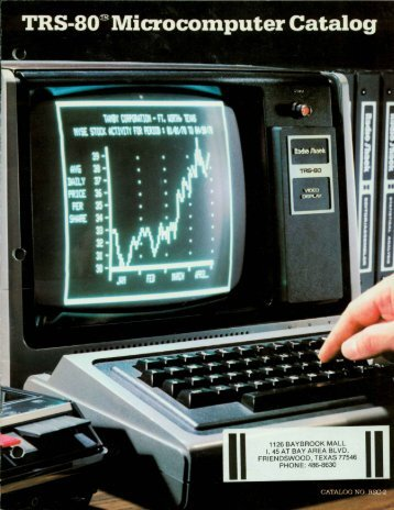 TRS-80 Computer Catalog RSC2 - The Trailing Edge