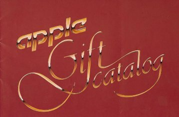 Old Apple Gift Catalog - The Trailing Edge