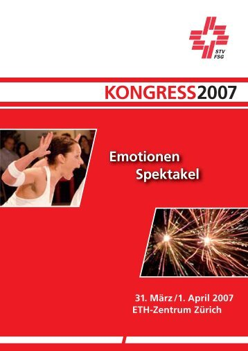 STV Kongress 07 - TRAINING AND THERAPY