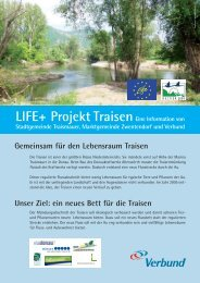 Life-Projekt Traisen (597 KB) - .PDF - Traismauer