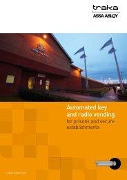 Prisons & Secure Establishments - Automated key and radio