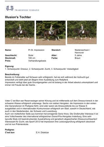 Als PDF drucken - Trakehner Verband