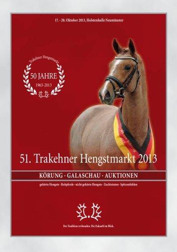 Hengstmarktkatalog (pdf) - Trakehner Verband