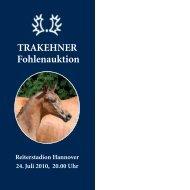 Fohlenkatalog (pdf) - Trakehner Verband