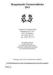 Katalog Vorauswahlreise (pdf) - Trakehner Verband