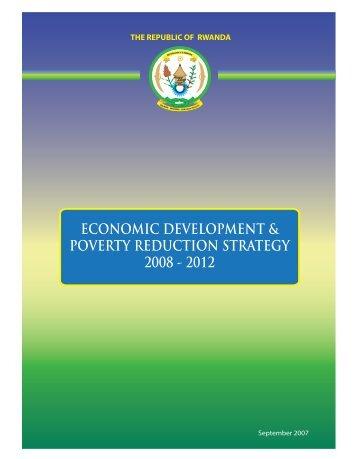 economic development & poverty reduction strategy 2008