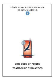 2010 code of points trampoline gymnastics