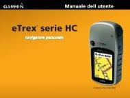 eTrex® serie HC - Garmin