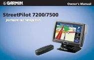 StreetPilot 7200/7500 - Tramsoft