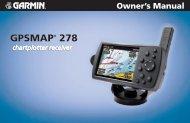 GPSMAP 278 Owner's Manual - Tramsoft