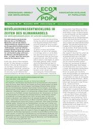 Bulletin ECOPOP Nr. 57