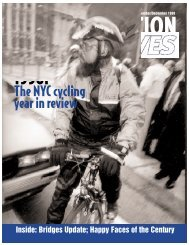 The NYC cycling year in review - Transportation Alternatives