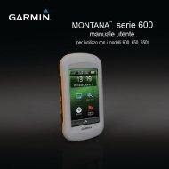 Manuale Garmin - Tramsoft