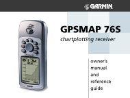 Garmin GPSMap 76S manual - Lakehead University