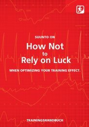 How Not to Rely on Luck - Tramsoft