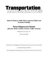 Ideas to Reduce Traffic Noise, Improve Safety and - Transportation ...