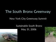 The South Bronx Greenway