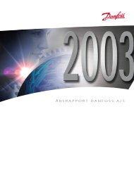 Årsrapport 2003 - Danfoss
