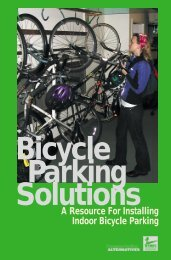 Bicycle Parking Solutions - Transportation Alternatives