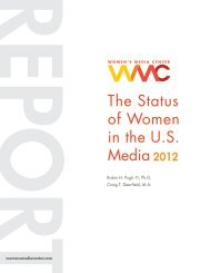 The Status of Women in the U.S. Media