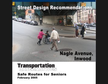 Nagle Avenue - Transportation Alternatives