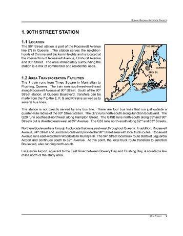 1. 90TH STREET STATION - Transportation Alternatives