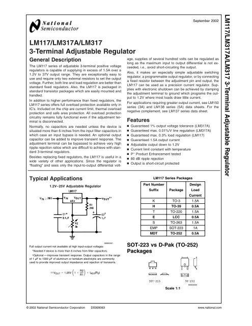 4 pack LM317 ON Semi 317T Variable Voltage 1.2V to 37V Regulator 1.5A
