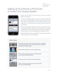 Setting Up Your iPhone or iPod Touch to Control ... - Meridian Audio