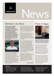 Praise in Vegas Meridian's new Muse - Meridian Audio
