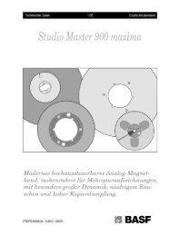 Studio M aster 900 maxima - NEW HiFi-Classic