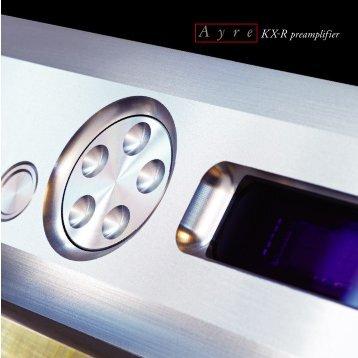 KX-R - Ayre Acoustics