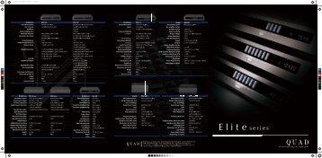 Pilnas Elite serijos aprašymas (pdf) - Bel canto